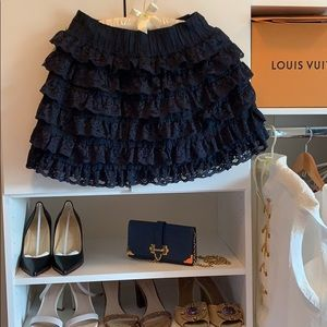 Back to School Abercrombie & Fitch Ruffle Skirt
